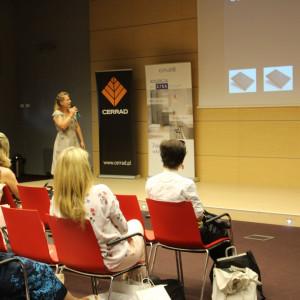Prezentacja partnera: Katarzyna Tworek z firmy Aurora Technika Świetlna.