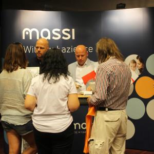 Prezentacja stoiska: firma Massi.