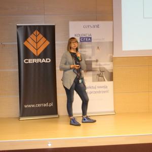 Prezentacja najlepszego projektu: Anna Maria Sokołowska.
