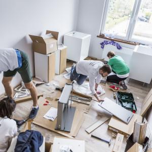 IKEA umeblowała 11 mieszań dla wychowanków domów dziecka. Fot. IKEA