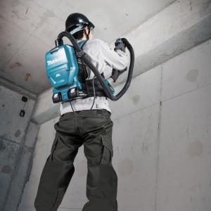Akumulatorowy odkurzacz plecakowy (2 x 18 V). Fot. Makita