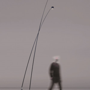 Lampa ogrodowa Sampei, Davide Groppi. Fot. Rooms