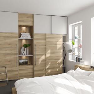 Dekor Kronberg zastosowany w sypialni. Fot. Interprint