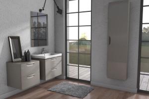 """""""Flou"""" - minimalizm w łazience"""