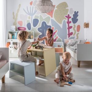 Kolekcja mebli dziecięcych Tuli firmy Vox. Projekt: Joanna Leciejewska. Fot. Vox