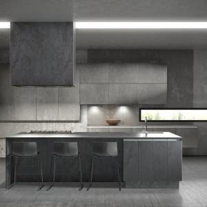 Kuchnia z frontami ceramicznymi brytyjskiej firmy Two Tone Kitchens. Fot. Two Tone Kitchens