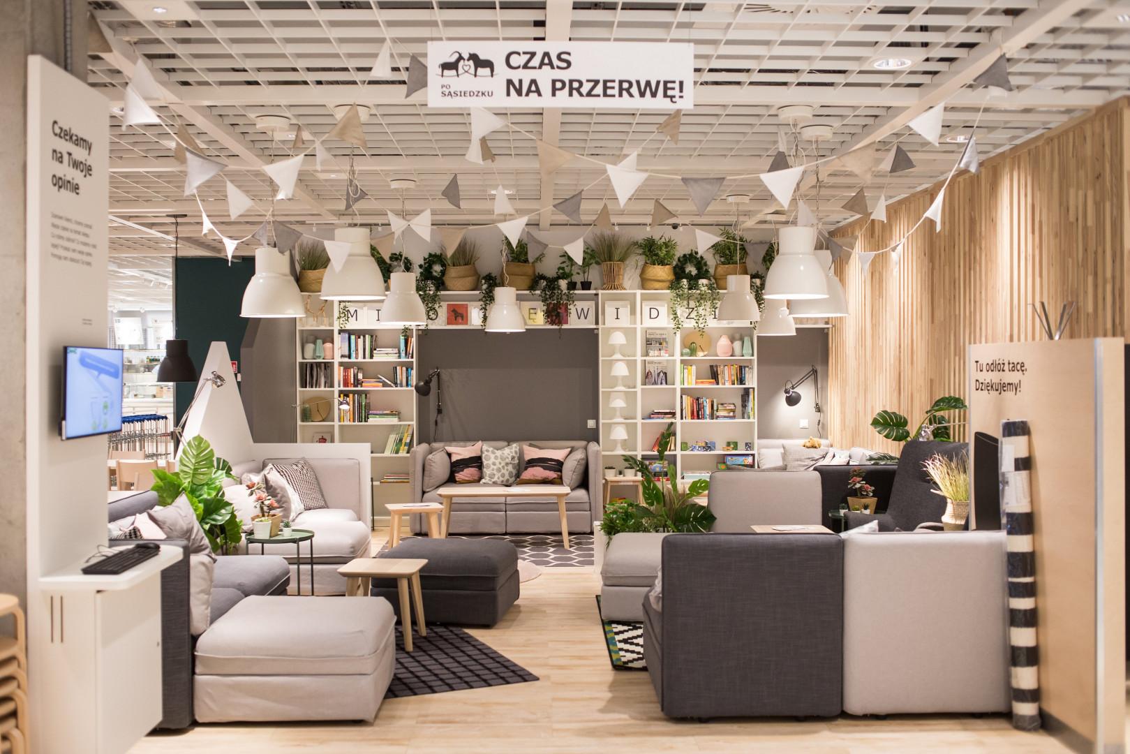 Strefa Czas Na Przerwę w lubelskim sklepie IKEA. Fot. IKEA