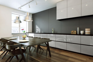 Jaki materiał na kuchenne fronty - przykłady rozwiązań