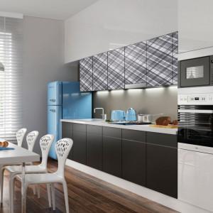 Fronty kuchenne wykonane ze szkła