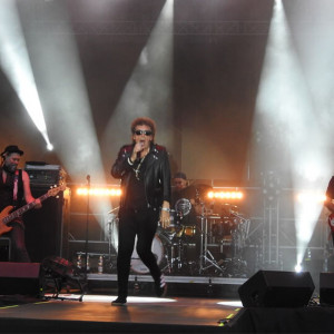 Występ zespołu Lady Pank - jednej z gwiazd