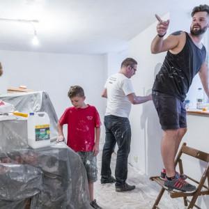 W działania SPS Riposta aktywnie włączyli się pracownicy IKEA Poznań. Fot. IKEA