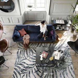 Jednym ze sposobów na osiągnięcie stanu wewnętrznego spokoju i harmonii jest odpowiednia aranżacja pomieszczenia – minimalistyczna, a jednocześnie przytulna. Fot. BoConcept