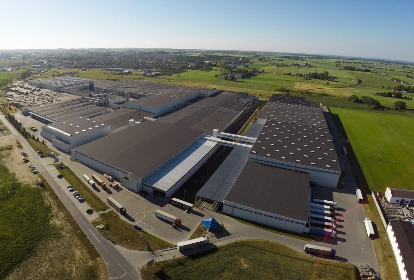 Zakład IKEA Industry w Lubawie. Fot. IKEA