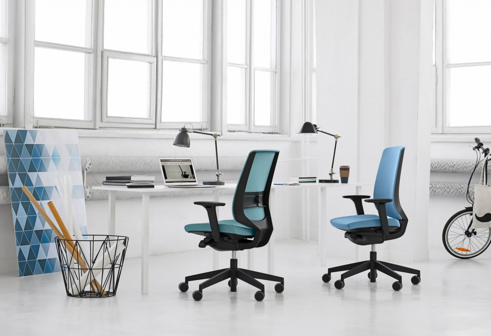 Fotele z serii LightUp - jeden z produktów firmy Profim. Fot. Profim