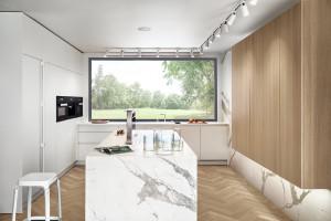 Połączenie różnych materiałów w jednej kuchni