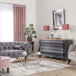 Fotel Harris Velvet Light Grey. Fot. Dekoria.pl