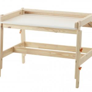 Biurko o regulowanej wysokości. Fot. IKEA