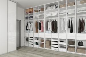Garderoba w osobnym pomieszczeniu - jak ją zaprojektować?