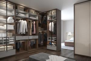 Osobna garderoba - pomysł na funkcjonalne wnętrze