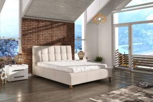 Komfortowe łóżko tapicerowane