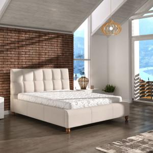 Łóżko tapicerowane Aston. Fot. Comforteo
