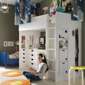 Wielofunkcyjny mebel do pokoju dziecka. Fot. IKEA