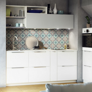 Kuchnia na poddaszu firmy IKEA. Fot. IKEA