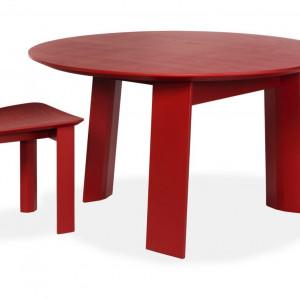 Stół i krzesło z serii