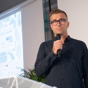 Tomek Rygalik podczas OKK! design.