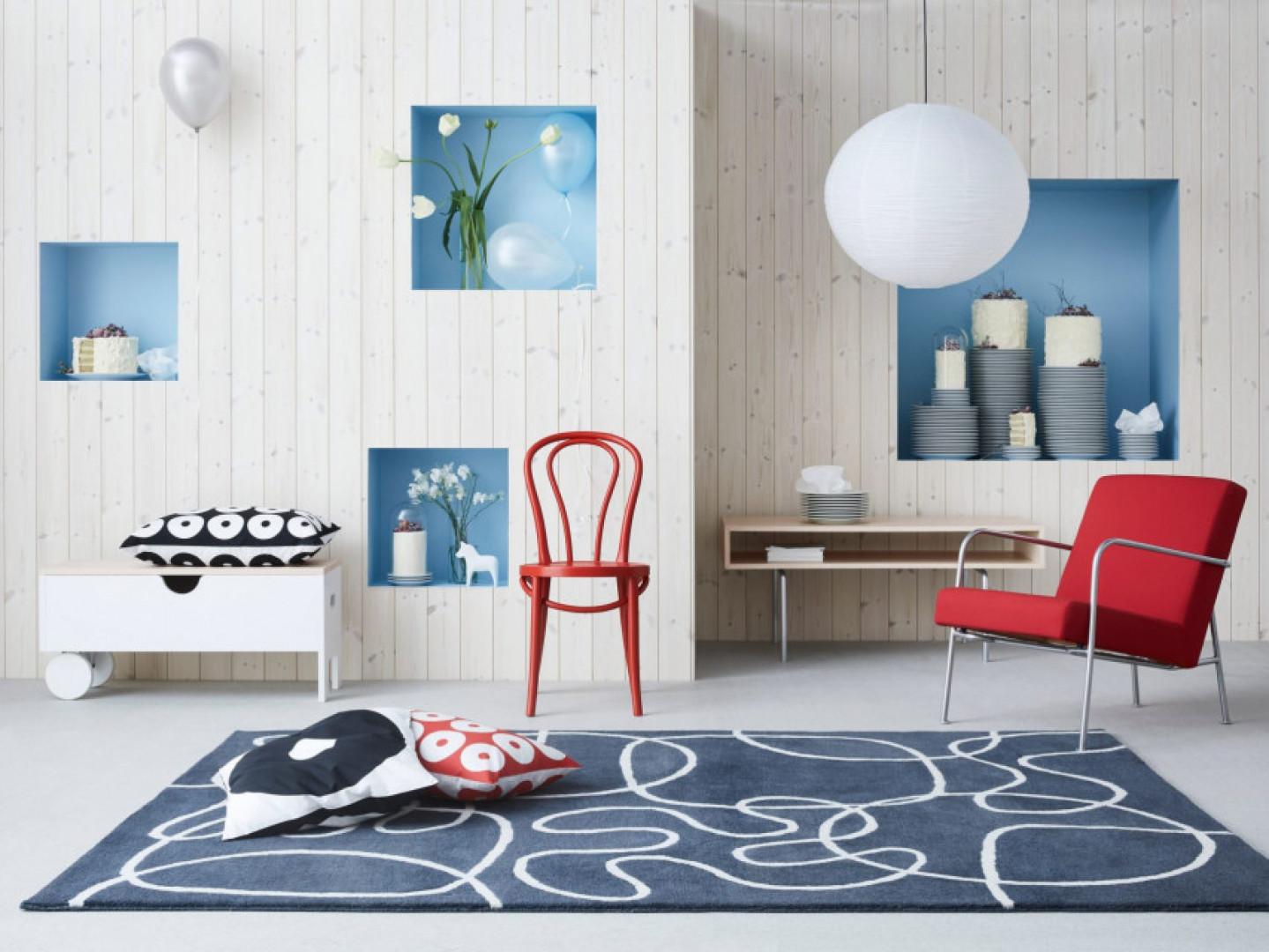 Urodzinowa kolekcja Gratulera firmy IKEA. Fot. IKEA