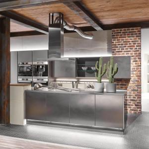 Kuchnia w stylu industrialnym - model