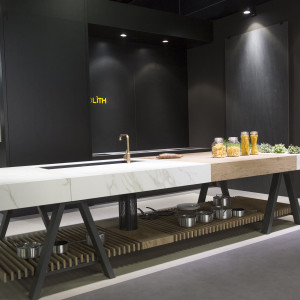 Neolith - Living Kitchen 2017. Fot. Koelnmesse