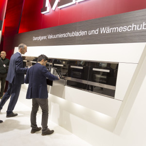 Miele - Living Kitchen 2017. Fot. Koelnmesse