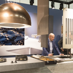 Dekker - Living Kitchen 2017. Fot. Koelnmesse