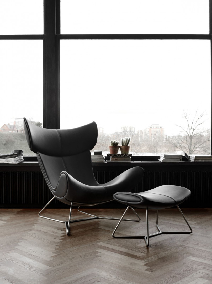 """Fotel """"Imola"""" firmy BoConcept. Projekt: Henrik Pedersen. Fot. BoConcept"""