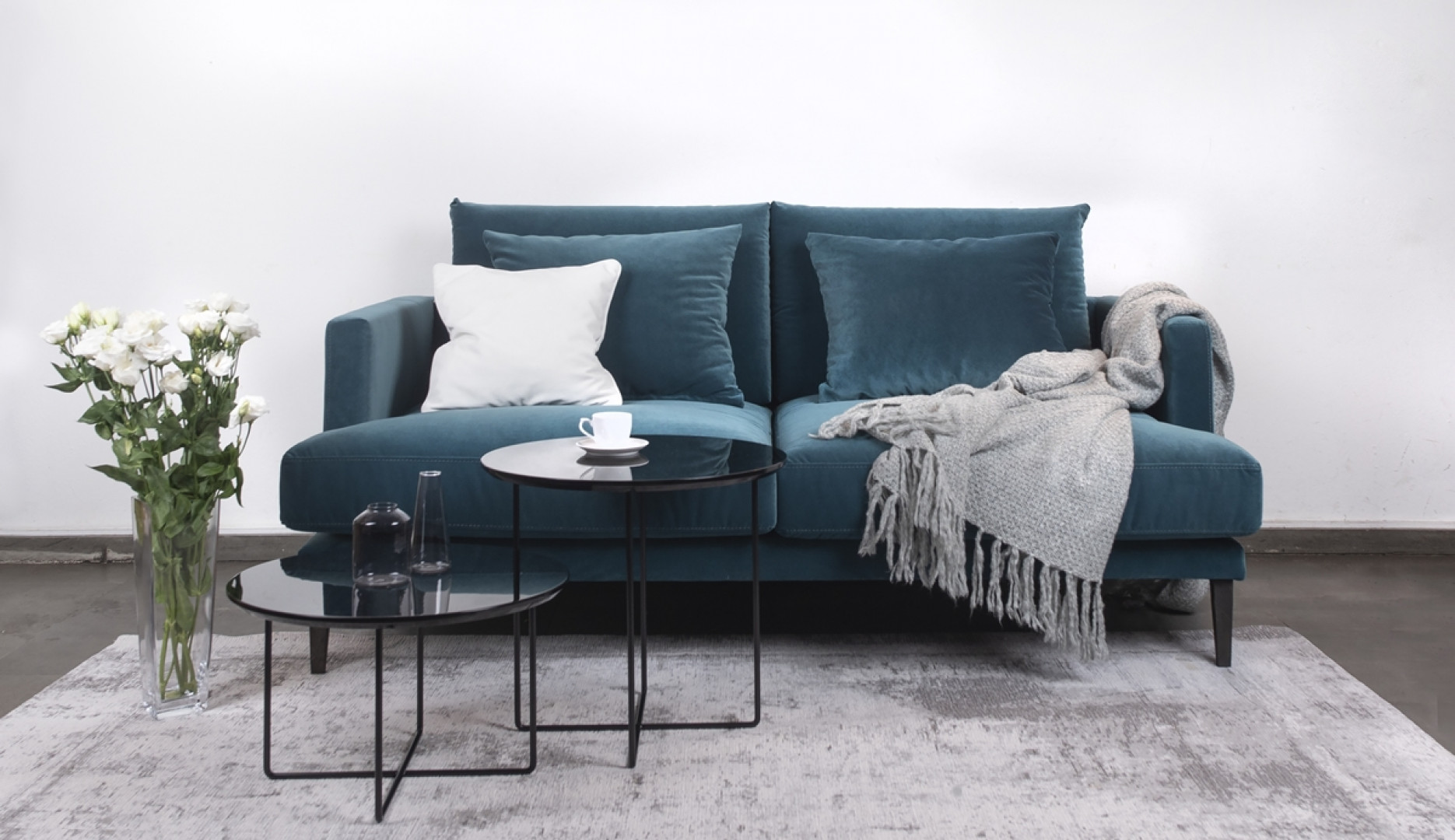 Sofa Rivia marki Rosanero. Fot. Rosanero