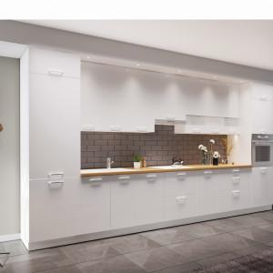 Kuchnia KAMMono z wysokimi szafkami. Fot. KAM Kuchnie