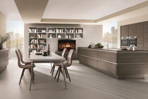 Kuchnie otwarte na salon - liczą się proporcje i czystość formy