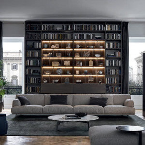 Sofa Tribeca marki Poliform. Fot. Studio Forma 96