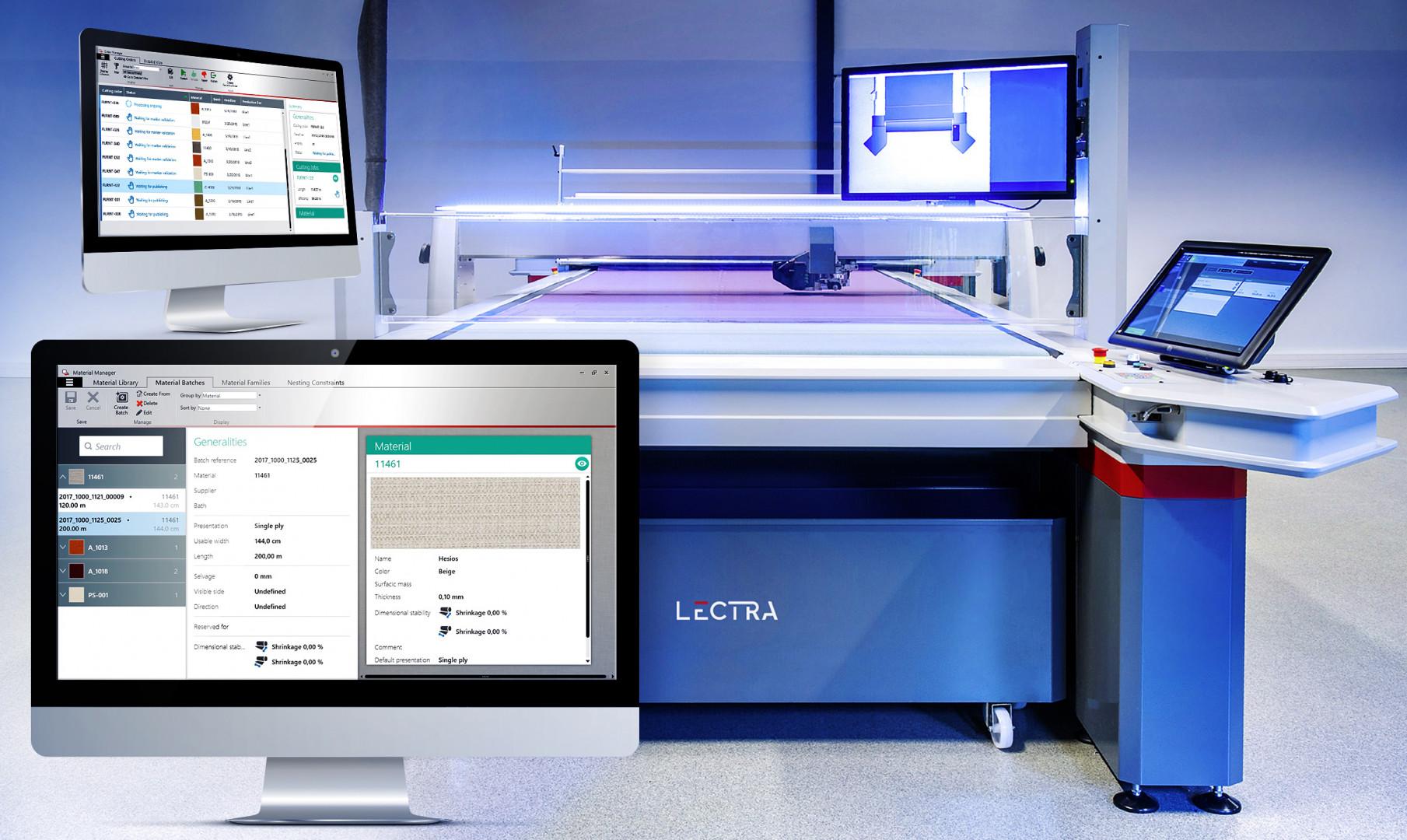 Najnowsze rozwiązanie do cięcia tkanin firmy Lectra