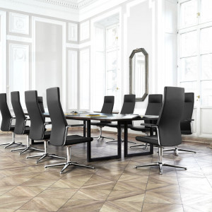 Stół konferencyjny z oferty firmy Profim. Fot. Profim