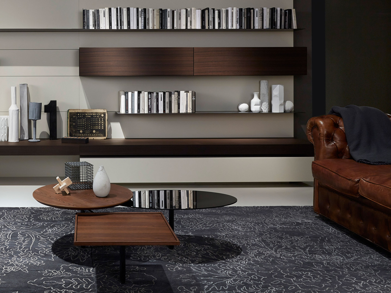 Potrójny stolik firmy Porro. Projekt: Front. Fot. Porro
