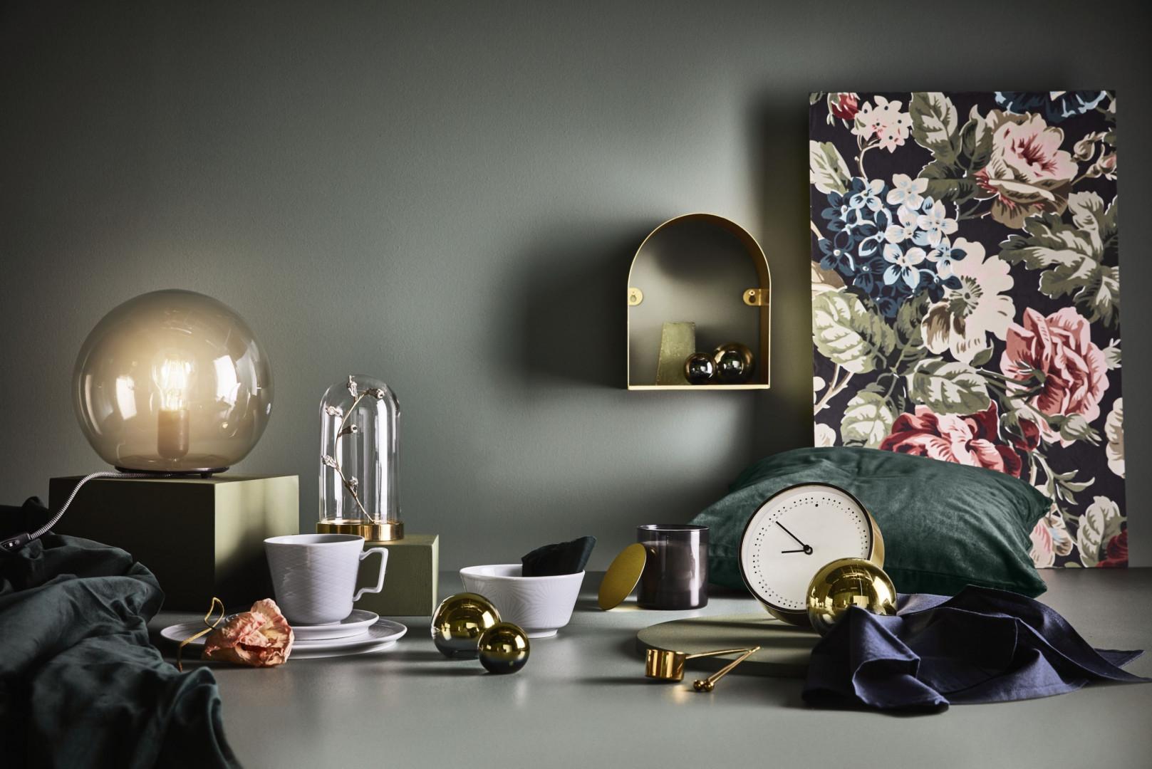 Półka ścienna z katalogu IKEA 2019. Fot. IKEA