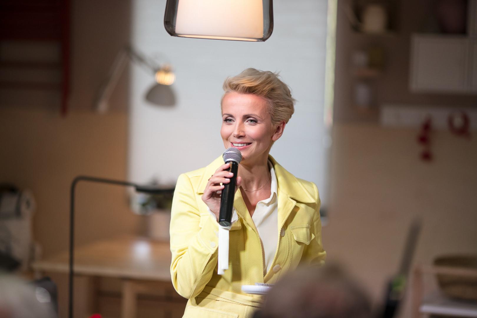 Katarzyna Zielińska na premierze katalogu IKEA 2019. Fot. IKEA