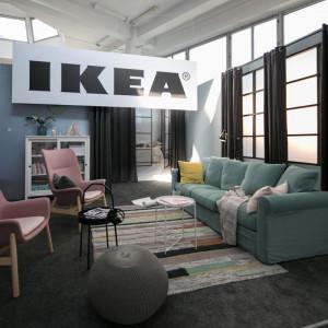 Zaaranżowana ekspozycja produktów marki IKEA na premierze katalogu IKEA 2019. Fot. IKEA