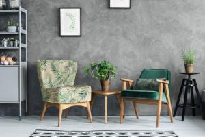 Meble do salonu - urządzamy wnętrze w stylu urban jungle!