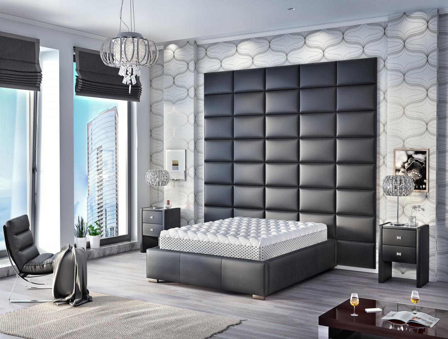 Łóżko Polibox marki Comforteo. Fot.Comforteo