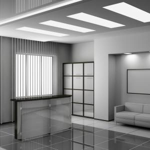 Jednym z kluczowych elementów w miejscu pracy jest oświetlenie. Nie może być zbyt ciemne, aby nasze oczy się nie męczyły i żebyśmy nie odczuwali senności. Fot. GTV