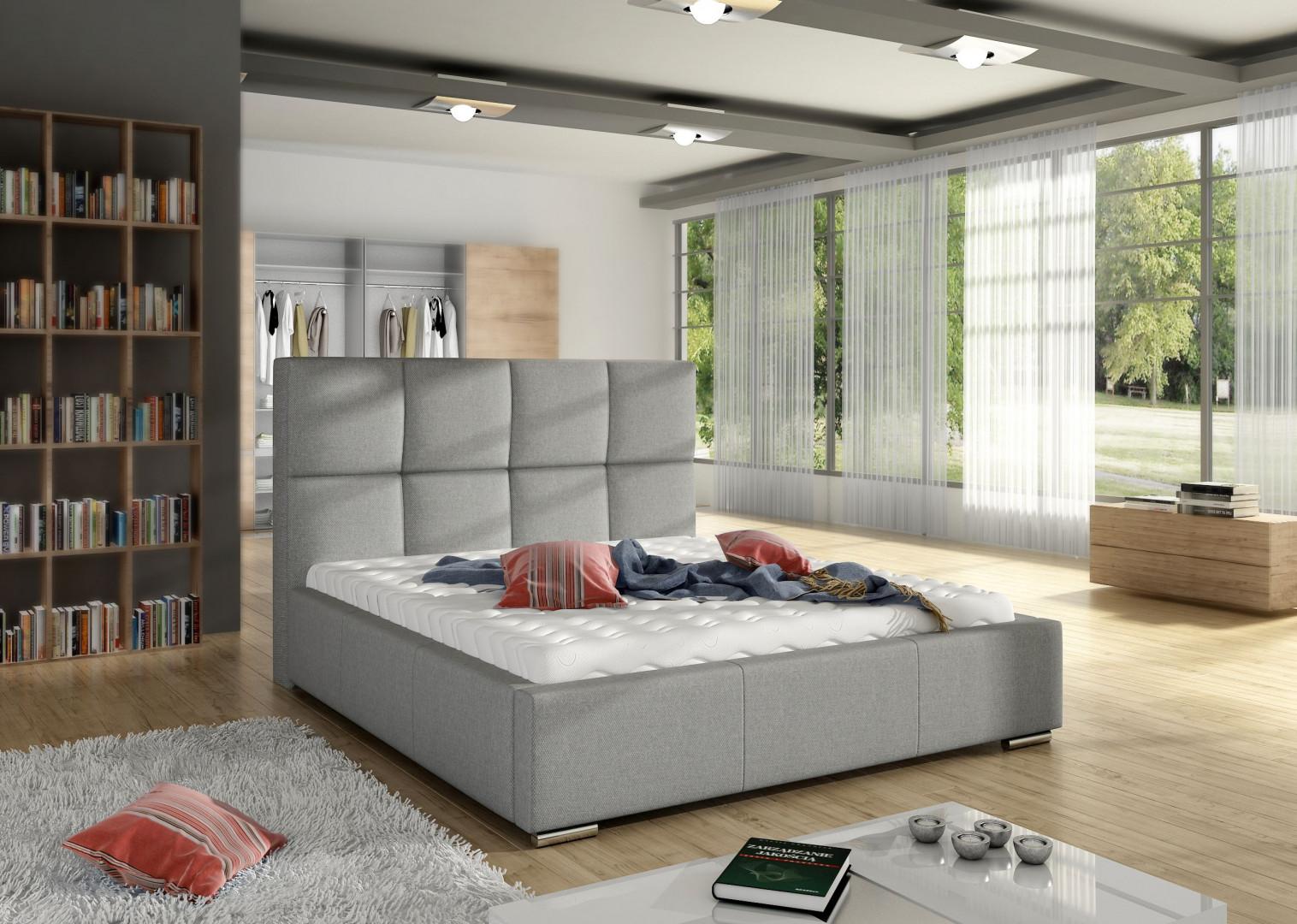Łóżko tapicerowane Stella marki Comforteo. Fot. Comforteo