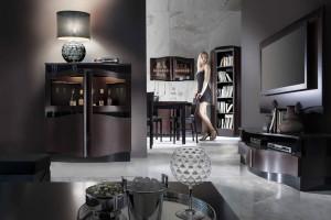 Meble do salonu - wybierz ciemniejsze kolory!
